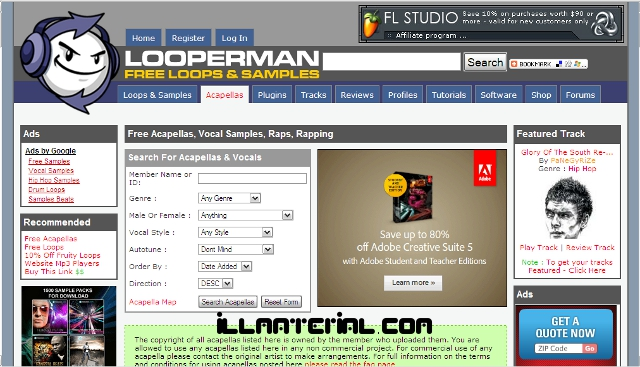 LOOPERMAN:THE FREE LOOPS AND SAMPLES DATABASE!!! – MUSIC